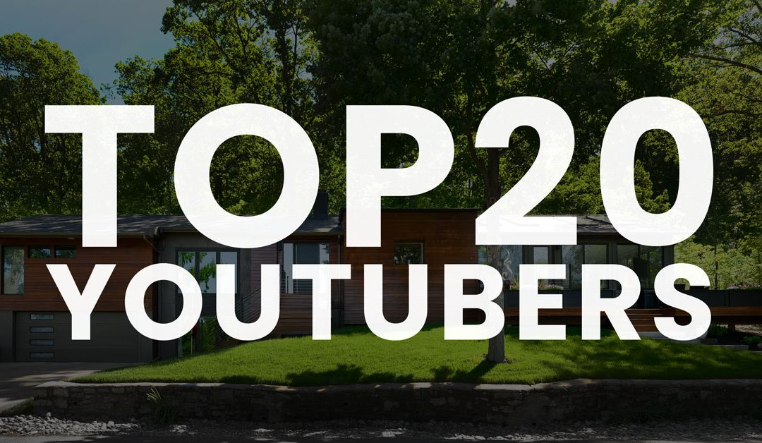Top 20 YouTube Channels To Learn Real Estate Photography, Video, and Virtual Tours