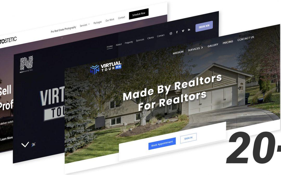 20+ Real Estate Photographer Websites for Inspiration